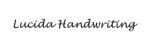 lucidahandwriting